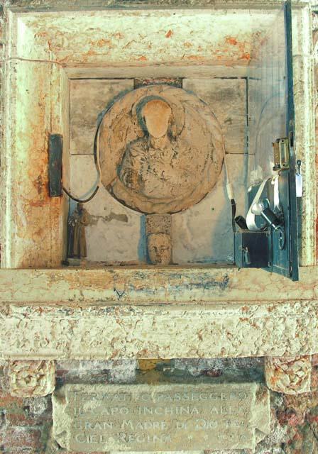 Capitello in sotoportego de le Romite