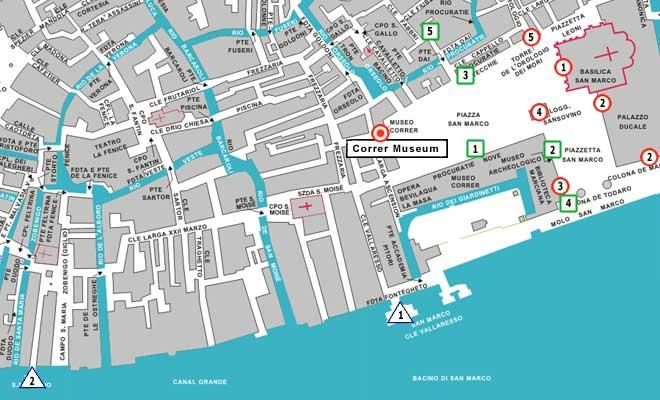 Venice Guide Correr Museum - Venice map printable